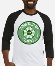 Powered By Plants Badge Baseball Jersey