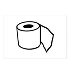 Toilet paper Postcards (Package of 8)