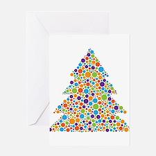 Tree of Dots Greeting Card