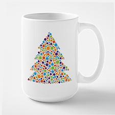Tree of Dots Large Mug
