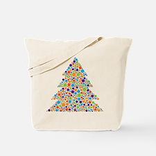 Tree of Dots Tote Bag