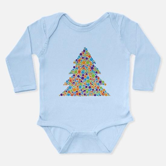 Tree of Dots Long Sleeve Infant Bodysuit