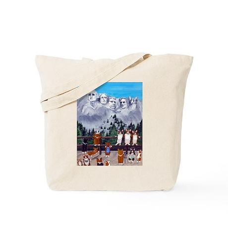 Mt. Corgimore Tote Bag