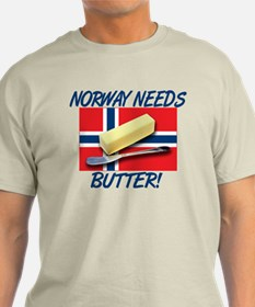 Norway Needs Butter T-Shirt