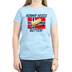 Norway Needs Butter Women's Light T-Shirt