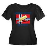 Norway Needs Butter Women's Plus Size Scoop Neck D