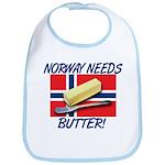 Norway Needs Butter Bib