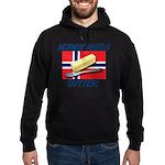 Norway Needs Butter Hoodie (dark)