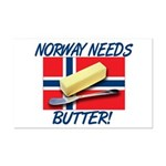 Norway Needs Butter Mini Poster Print