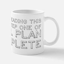 Step One Of My Evil Plan Mug