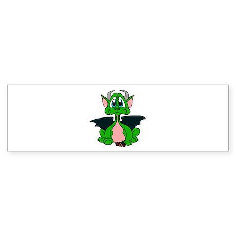 Cutie Dragon, Sticker (Bumper)
