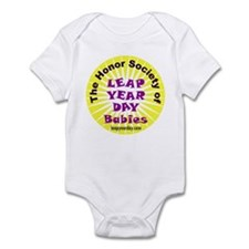 Leap Day Baby logo Infant Bodysuit