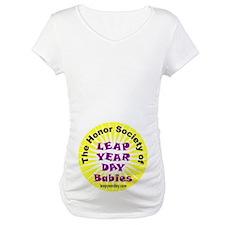Leap Day Baby logo Shirt