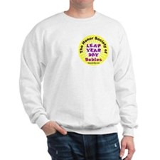 Leap Day Baby logo Sweatshirt