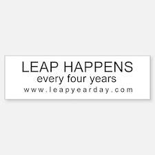LEAP HAPPENS Sticker (Bumper)