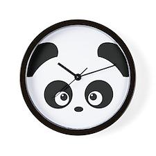 Love Panda Wall Clock