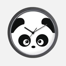 Love Panda Wall Clock