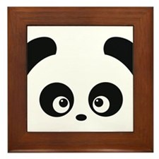 Love Panda Framed Tile