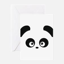 Love Panda Greeting Card