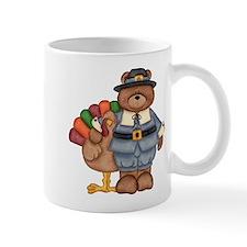 Thanksgiving Bear Mug