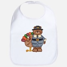 Thanksgiving Bear Bib