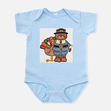 Thanksgiving Bear Infant Bodysuit