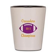 CRUSADERS 2011 CHAMPIONS Shot Glass