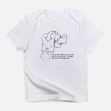 Toilet Paper Infant T-Shirt