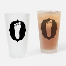 Footprint Drinking Glass