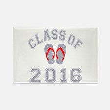 Class Of 2016 Flip Flop Rectangle Magnet (10 pack)