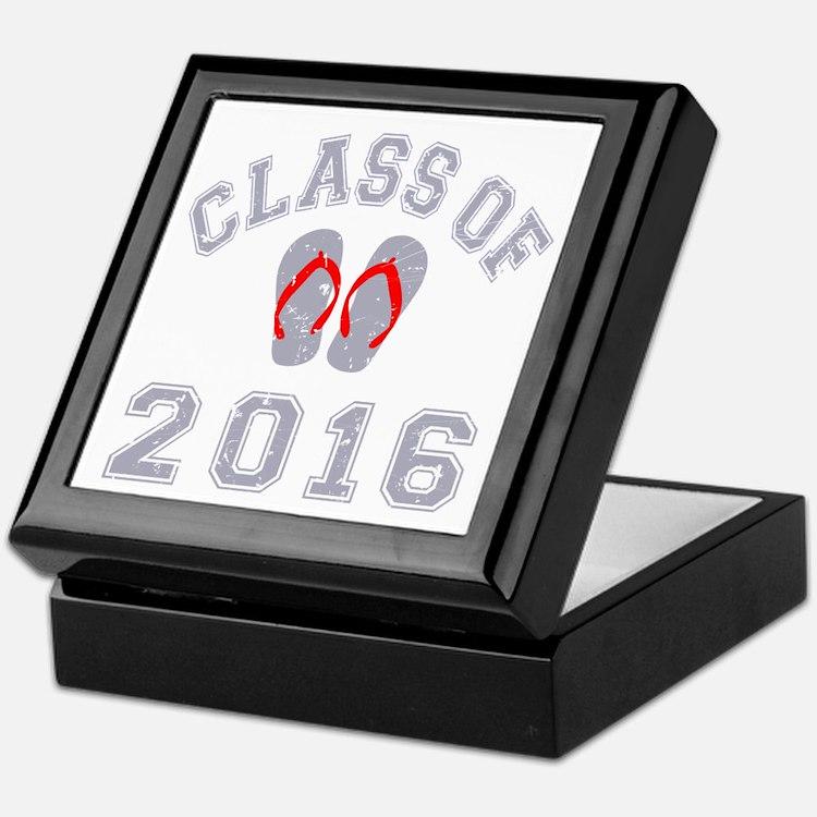 Class Of 2016 Flip Flop Keepsake Box
