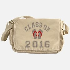 Class Of 2016 Flip Flop Messenger Bag