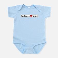 Kadence loves me Infant Creeper
