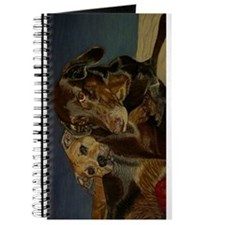 Doberman & Pitbull Dog Journal