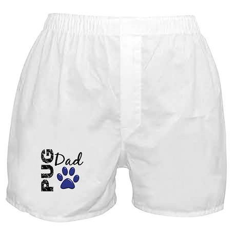 Pug Dad 2 Boxer Shorts