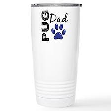 Pug Dad 2 Travel Coffee Mug
