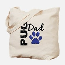 Pug Dad 2 Tote Bag