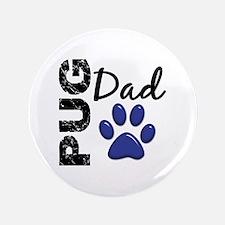 """Pug Dad 2 3.5"""" Button"""