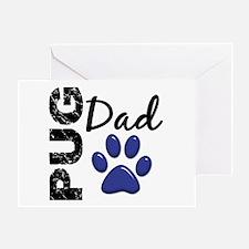 Pug Dad 2 Greeting Card