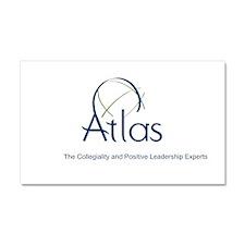 ATLAS Leadership Car Magnet 20 x 12