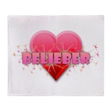 Belieber Throw Blanket