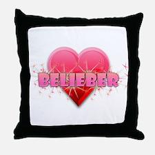 Belieber Throw Pillow