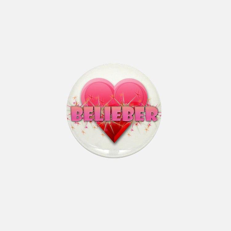 Belieber Mini Button
