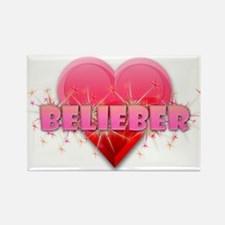 Belieber Rectangle Magnet