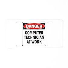 Computer Aluminum License Plate