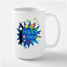 Happy New Year Large Mug