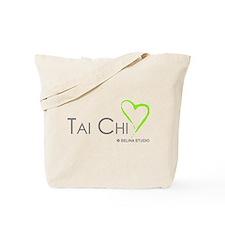 """Tai Chi Heart 2"" Tote Bag"