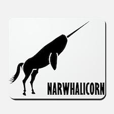 Narwhalicorn Narwhal Unicorn Mousepad