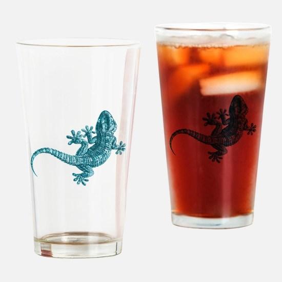 Gecko Drinking Glass