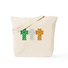 Cute Irish cross Tote Bag